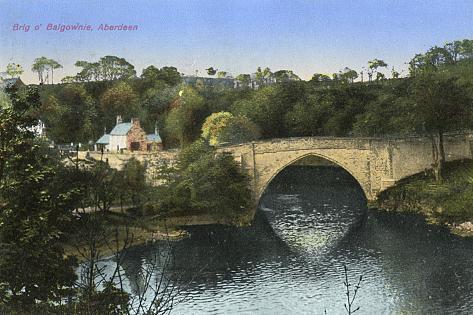 Bridge, Aberdeen Fotografie-Druck