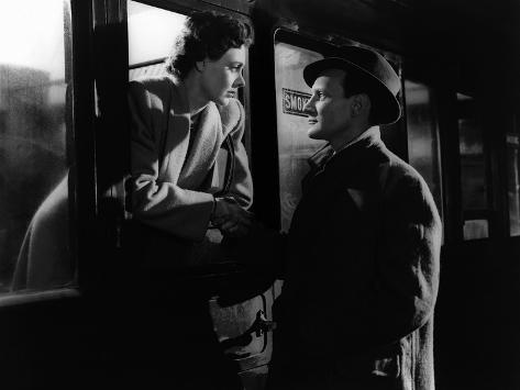 Brief Encounter, Celia Johnson, Trevor Howard, 1945 Foto