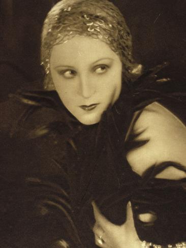 Brigitte Helm: L'Atlantide, 1932 Fotografie-Druck