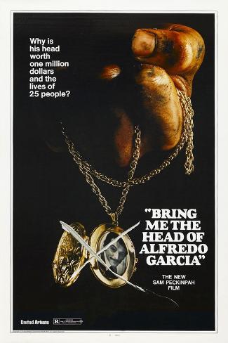 Bring Me the Head of Alfredo Garcia, 1974 Gicléedruk