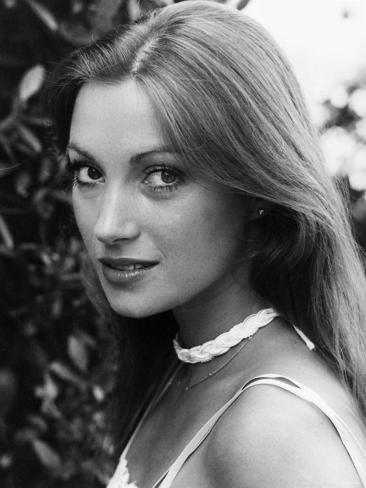 British Actress Jane Seymour in 1978 Fotografie-Druck