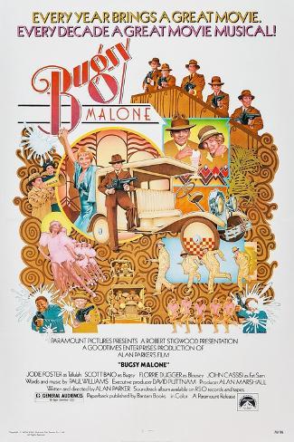 Bugsy Malone, Jodie Foster, Scott Baio, 1976 Premium gicléedruk