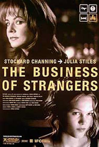 Buisness of Strangers (U.K. Quad) Originalposter