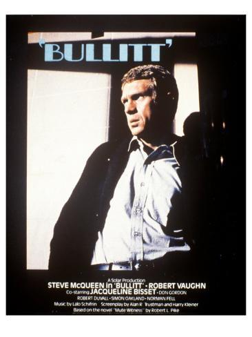 Bullitt, 1968 Kunstdruck