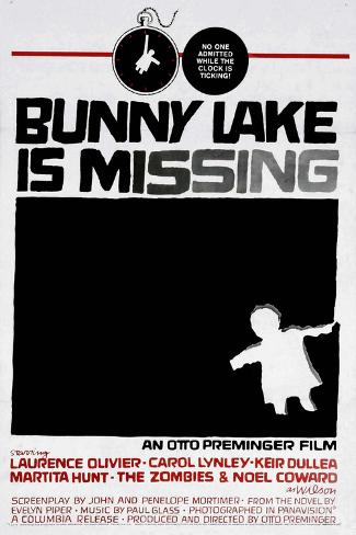 Bunny Lake Is Missing, 1965, Directed by Otto Preminger Giclée-Druck