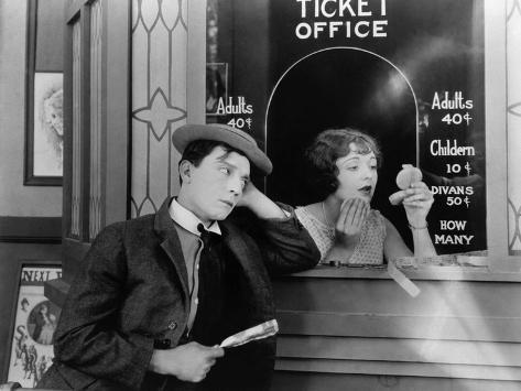 Buster Keaton, Ruth Holly, 1924 Fotografie-Druck