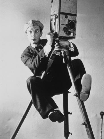 Buster Keaton: The Cameraman, 1928 Fotografie-Druck