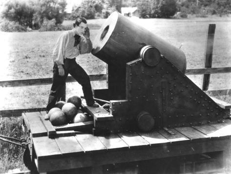 Buster Keaton: The General, 1927 Fotografie-Druck