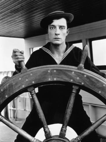 Buster Keaton: The Navigator, 1924 Fotografie-Druck