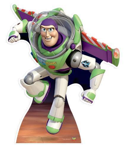 Buzz Lightyear - To Infinity and Beyond - 2013 Lifesize Standup Pappfiguren