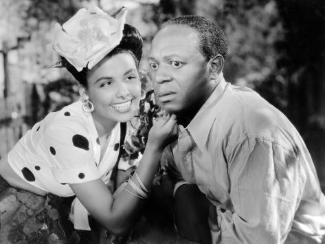 Cabin in the Sky, Lena Horne, Eddie 'Rochester' Anderson, 1943 Foto