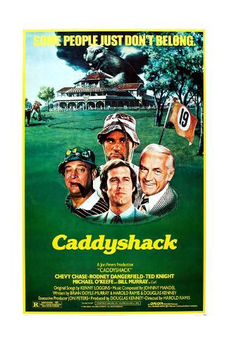 Caddyshack– Wahnsinn ohne Handicap Kunstdruck