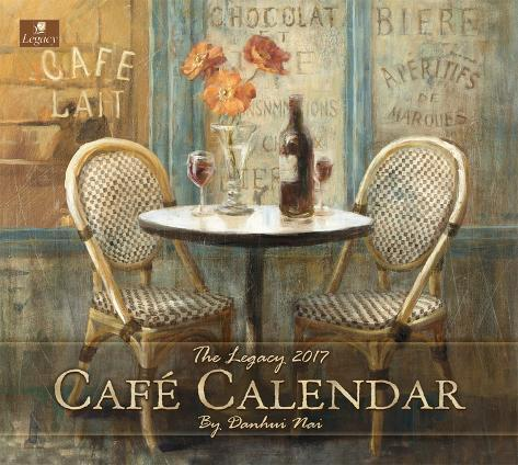 Café Calendar - 2017 Calendar Kalenders