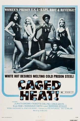 Caged Heat Kunstdruck