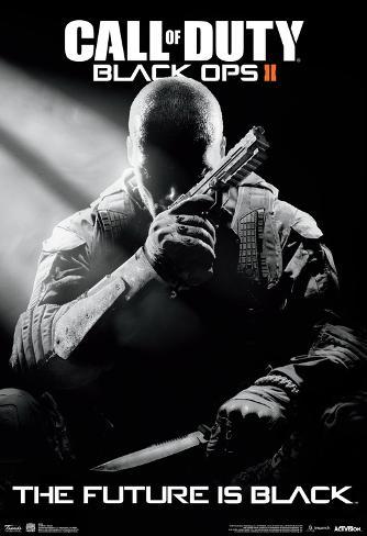 call of duty black ops 2 stealth video game poster foto. Black Bedroom Furniture Sets. Home Design Ideas