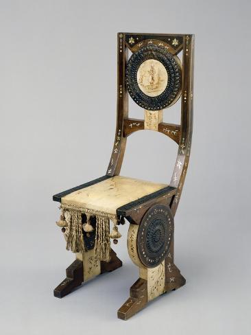 Art Nouveau Style Chair, Ca 1902 Giclée-Druck
