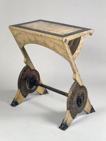 Art Nouveau Style Ladies Writing Desk Giclée-Druck