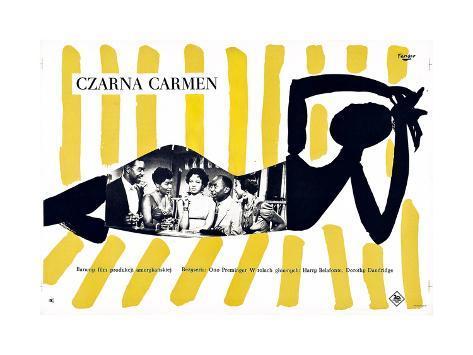 Carmen Jones, (aka Czarna Carmen), 1954 Giclée-Druck
