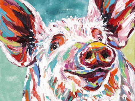 Piggy I Kunstdruck