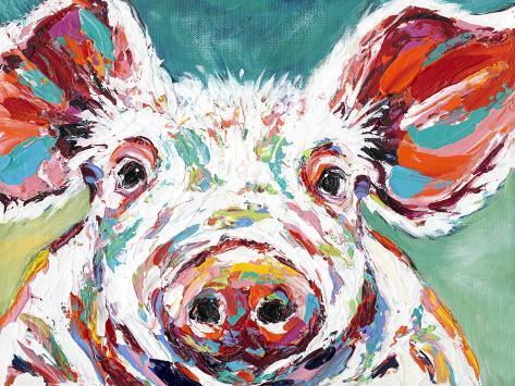 Piggy II Kunstdruck