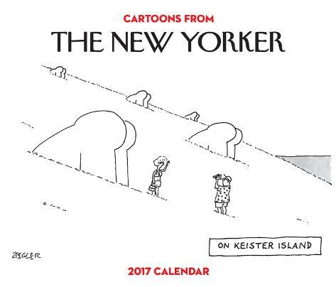 Cartoons from The New Yorker - 2017 Boxed Calendar Kalenders