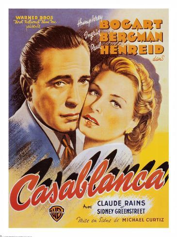 Casablanca Kunstdruck