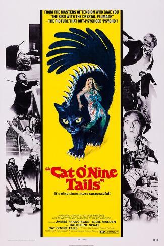Cat O' Nine Tails, (Aka Il Gatto a Nove Code) Kunstdruck