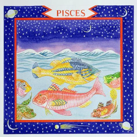 Fische Giclée-Druck