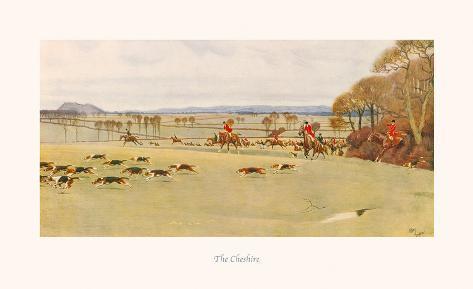 The Cheshire Giclée-Premiumdruck