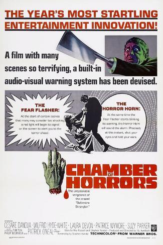 Chamber of Horrors, Patrick O'Neal, 1966 Kunstdruck