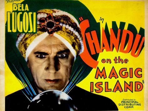 Chandu on the Magic Island, Bela Lugosi, 1935 Foto