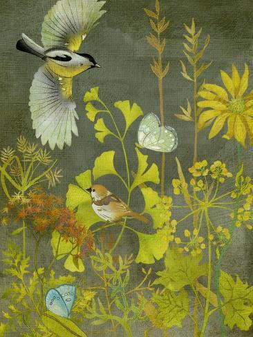 Birding II Kunstdruck