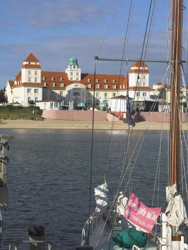 Binz, Rugen, West Pomerania Mecklenburg, Germany Fotografie-Druck