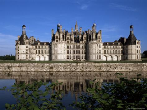 Chateau De Chambord, Loire Valley, Unesco World Heritage Site, Loir-Et-Cher, Centre, France Fotografie-Druck