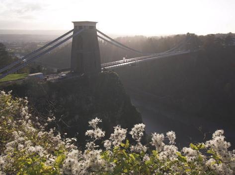 Clifton Suspension Bridge, Bristol, England, United Kingdom Fotografie-Druck