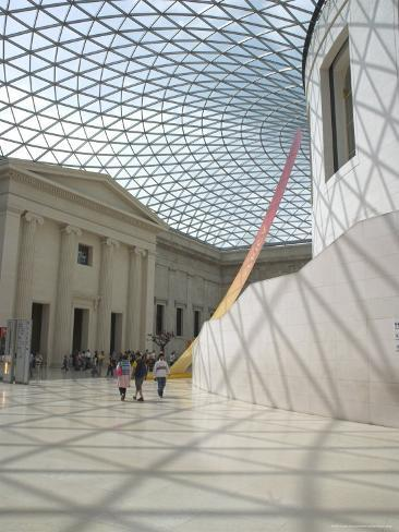 Great Court, British Museum, London, England, United Kingdom Fotografie-Druck