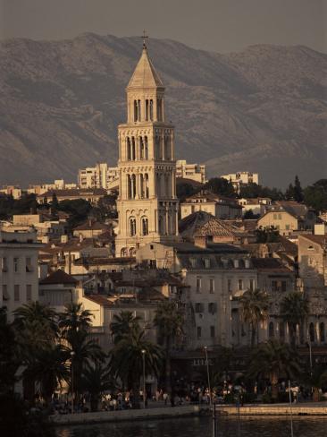 Split, Croatia Fotografie-Druck