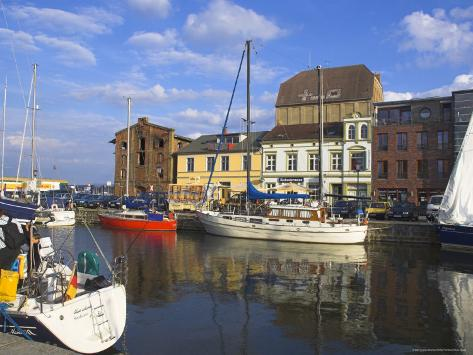 Stralsund, West Pomerania Mecklenburg, Germany Fotografie-Druck