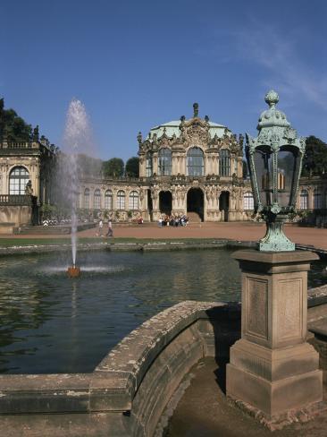 Zwinger, Dresden, Saxony, Germany Fotografie-Druck