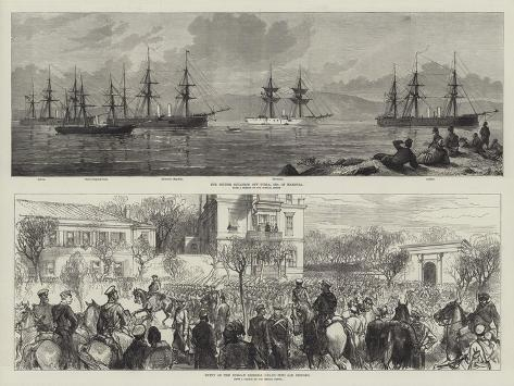 Russo-Turkish War Giclée-Druck