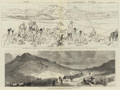 The Transvaal War Giclée-Druck