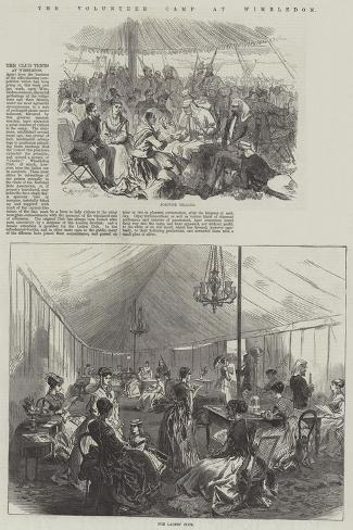 The Volunteer Camp at Wimbledon Giclée-Druck