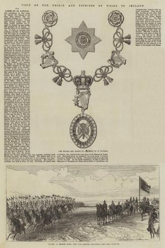 Visit of the Prince and Princess of Wales to Ireland Giclée-Druck