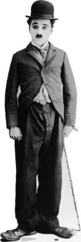 Charlie Chaplin Pappfiguren