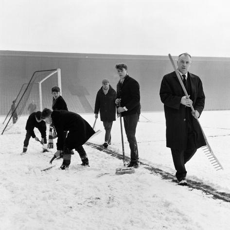 Bill Shankly Liverpool Manager Fotografie-Druck