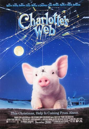 Charlotte's Web Doppelseitiges Poster