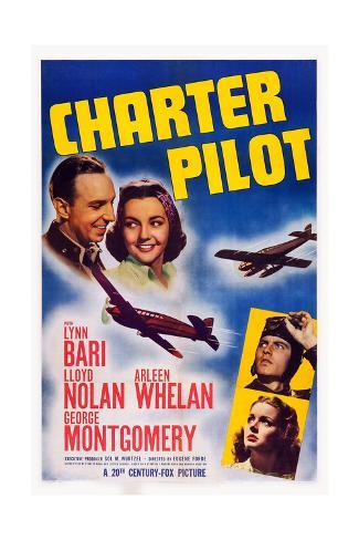 Charter Pilot Giclée-Druck