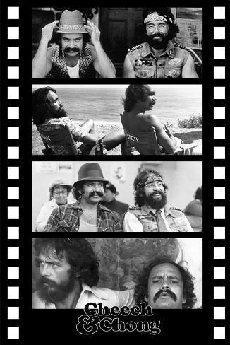 Cheech and Chong Filmstrip Movie Poster Poster