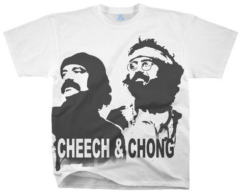 Cheech & Chong - Cheech & Chong Stencil T-shirt