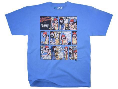 Cheech & Chong- Dave'S Not Here T-shirt